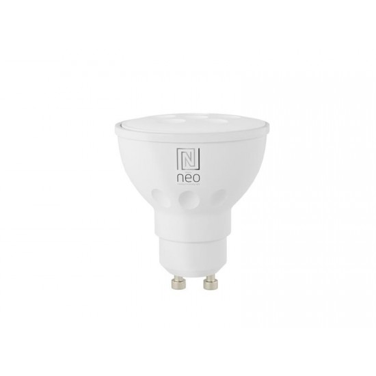 Múdra WiFi žiarovka LED GU10 4.8W teplá biela IMMAX NEO 07003L