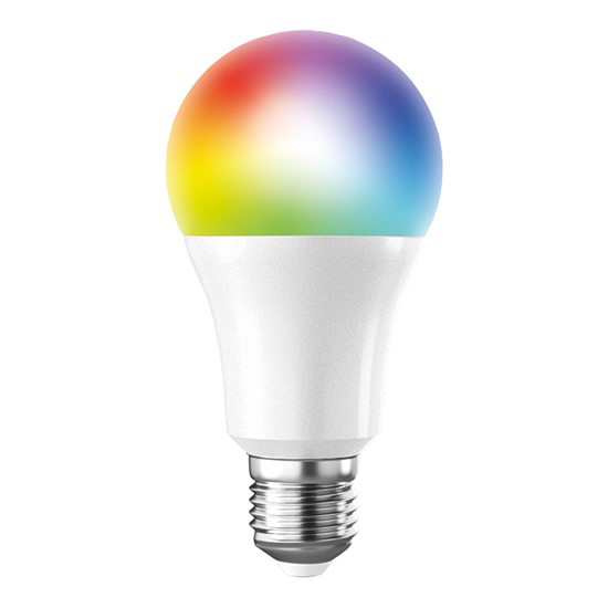 Žiarovka LED Solight WZ531, WIFI, 10W, E27, RGB, 270 °, 900lm