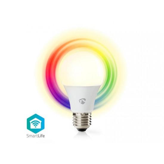 Žiarovka LED E27 6W RGBW NEDIS WIFI