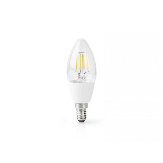 Žiarovka LED E14 5W teplá biela NEDIS WIFI