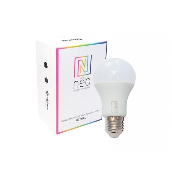 Múdra WiFi žiarovka LED E27 9W RGBW IMMAX NEO 07115L