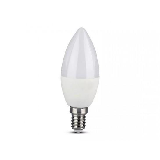 Múdra WiFi žiarovka LED E14 5W RGB 3v1 V-TAC VT-5114