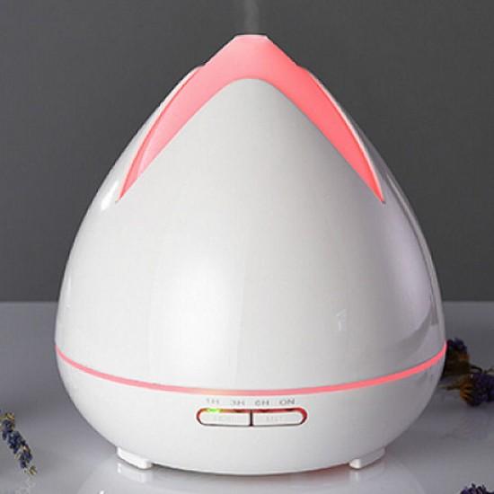 Aroma difuzér 02 biely - ultrazvukový, 7 farieb LED