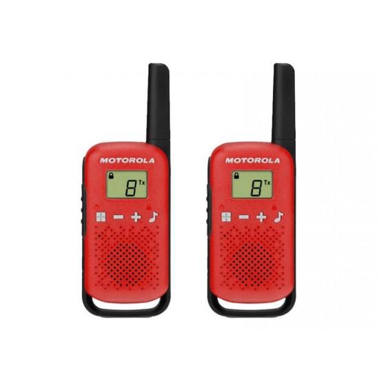 Vysielačky MOTOROLA TLKR T42 červené