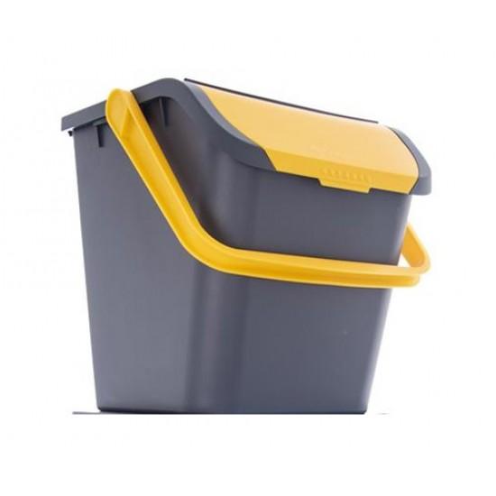 Kôš odpadkový ORION ECO 28L žltý