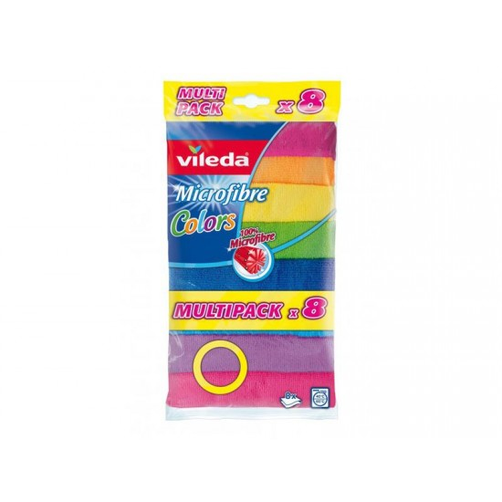 Umývacie utierky VILEDA COLORS 151501 8ks