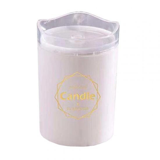 Aroma difuzér CANDLE biely