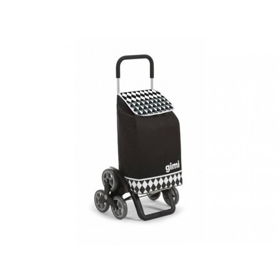 Vozík nákupný GIMI TRIS OPTICAL čierny 56L 154315