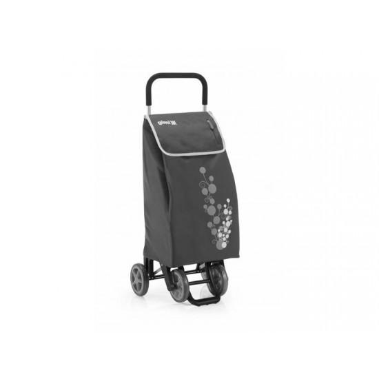 Vozík nákupný GIMI TWIN sivý 56L 154318