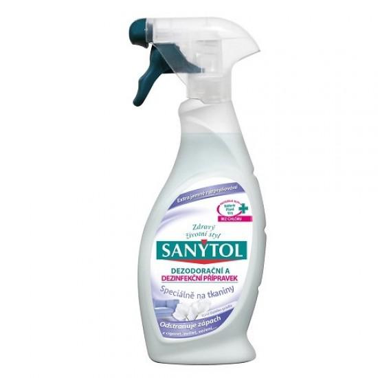 Dezodoračný a dezinfekčný prípravok na tkaniny SANYTOL 500ml