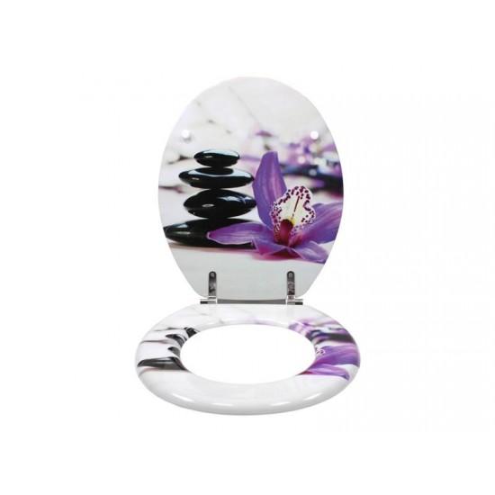 WC sedadlo SCHÜTTE orchidea