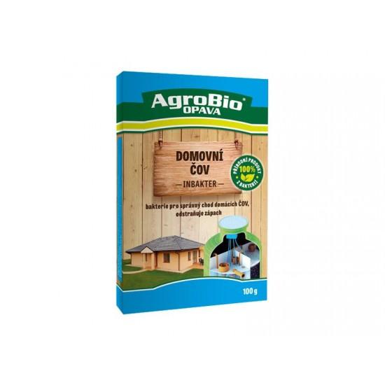 Prípravok k rozkladu organických nečistôt v domových odpadoch AgroBio Inbakter ČOV 100g