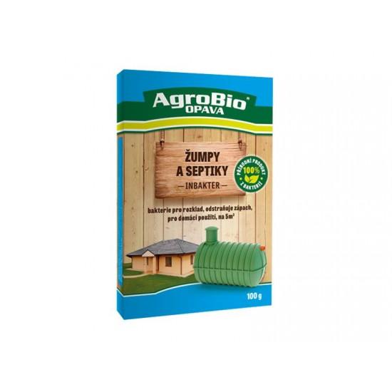 Prípravok k rozkladu organických nečistôt AgroBio Inbakter Žumpy a septiky 100g