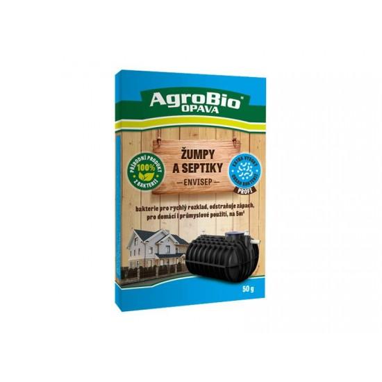 Prípravok k rozkladu organických nečistôt v žumpách a septikoch AgroBio Envi Sep 50g