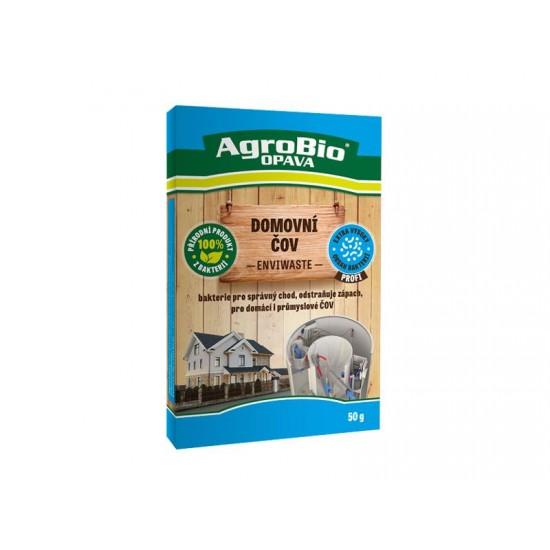 Prípravok k rozkladu organických nečistôt v domových odpadoch AgroBio Envi Waste 50g