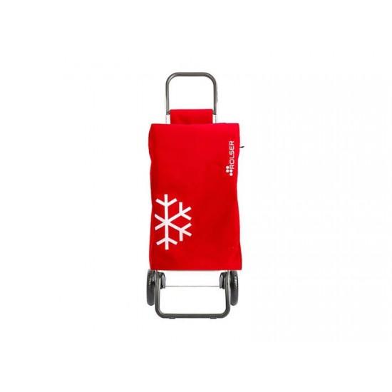 Vozík nákupný ROLSER Igloo Termo MF Convert RG červený