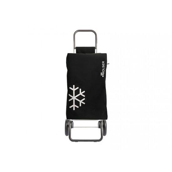 Vozík nákupný ROLSER Igloo Termo MF Convert RG čierny