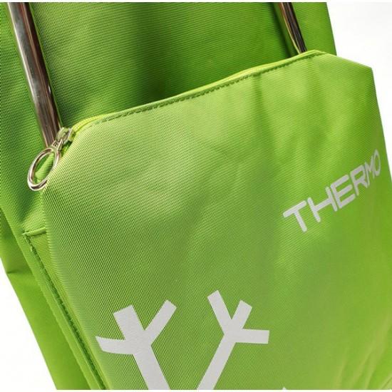 Vozík nákupný ROLSER I-Max Termo Zen Convert RG limetkovo zelený