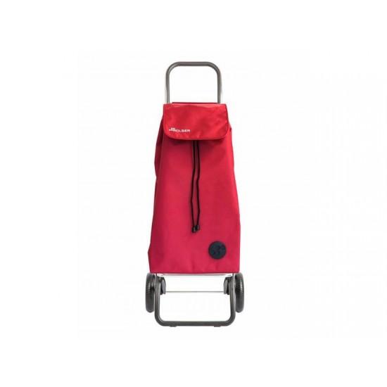 Vozík nákupný ROLSER I-Max Termo Zen Convert RG červený