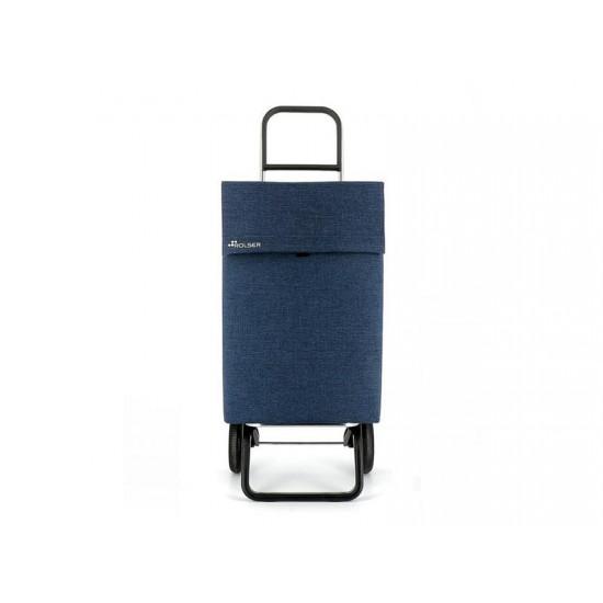 Vozík nákupný ROLSER Jean Tweed Convert RG tmavo modrý