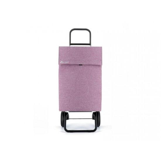 Vozík nákupný ROLSER Jean Tweed Convert RG fialový