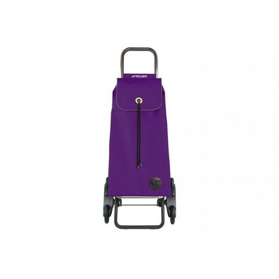 Vozík nákupný ROLSER I-Max MF Rd6 fialový