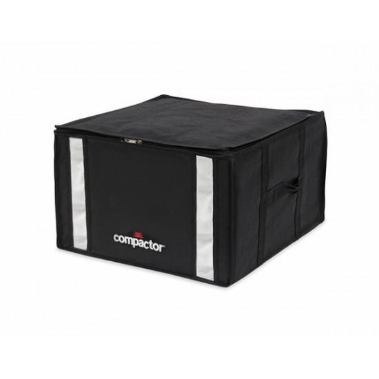 Vákuový úložný box s puzdrom Compactory 3D 125L čierny