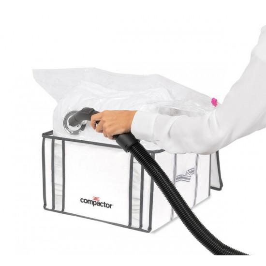 Úložný box s vákuovým sáčkom Compactory Life 125L