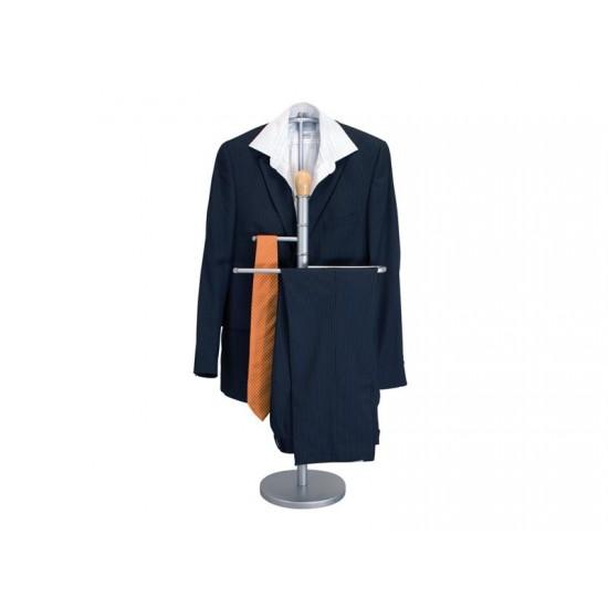 Stojan na šaty BANQUET 40x27x107cm hnedý