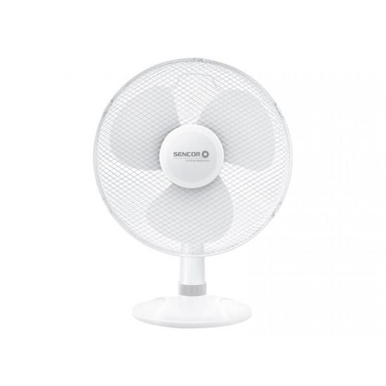 Ventilátor SENCOR SFE 4037WH biely