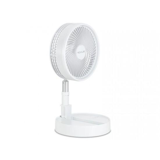 Ventilátor ROVUS prenosný bezdrôtový biely