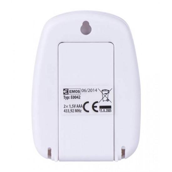 Teplomer digitálny bezdrôtový E0042