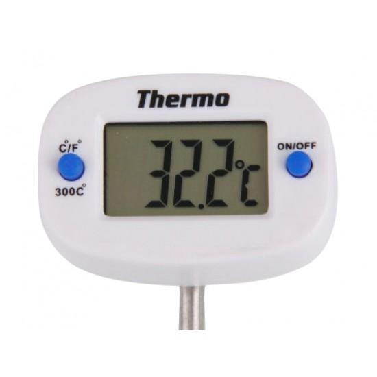 Teplomer digitálny vpichovací 50-300°C s otočnou hlavou