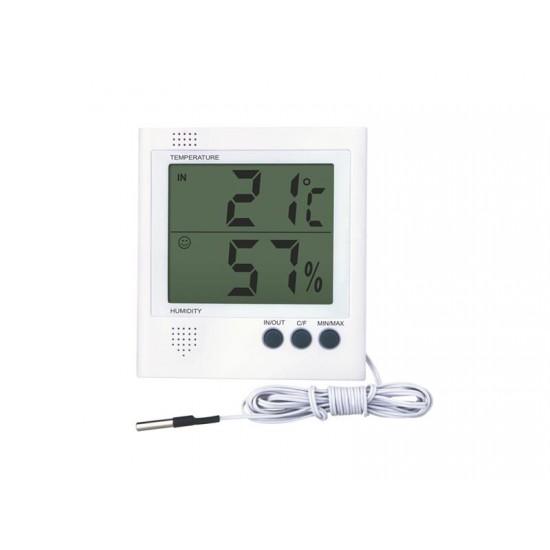 Teplomer digitálny drôtový RS8471