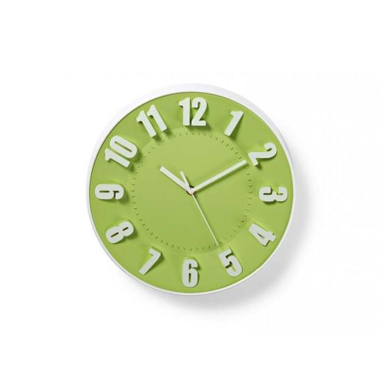 Hodiny analógové NEDIS GREEN CLWA012PC30GN 30 cm