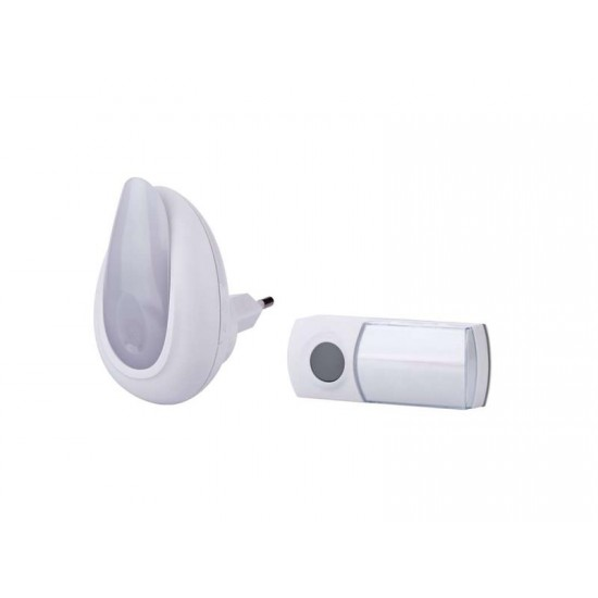 Domový bezdrôtový zvonček + nočné svietidlo