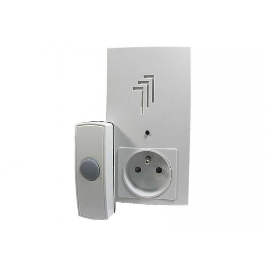 Domový bezdrôtový zvonček do zásuvky 230V AC, DING-DONG