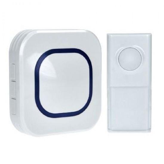 Zvonček domový bezdrôtový 1L49 biely