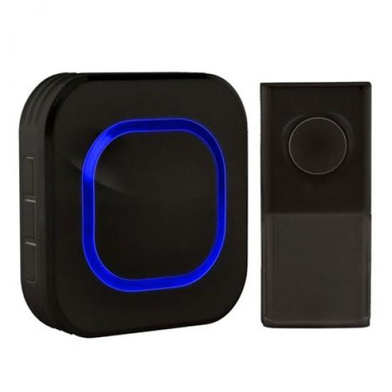 Zvonček domový bezdrôtový 1L49B čierny
