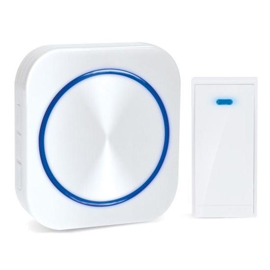 Zvonček domový bezdrôtový 1L51 biely