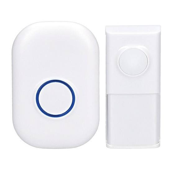 Zvonček domový bezdrôtový 1L54 biely