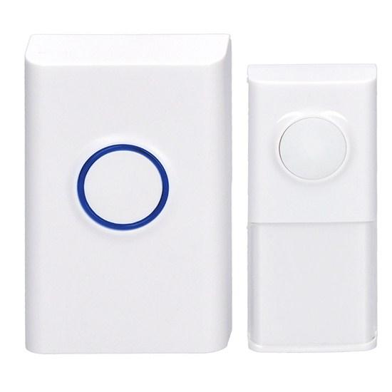Zvonček domový bezdrôtový 1L55 biely