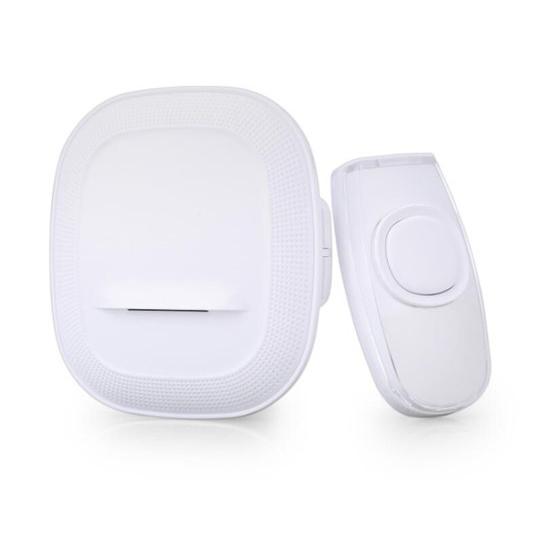 Zvonček domový bezdrôtový 1L62 do zásuvky, 200m, biely, learning code