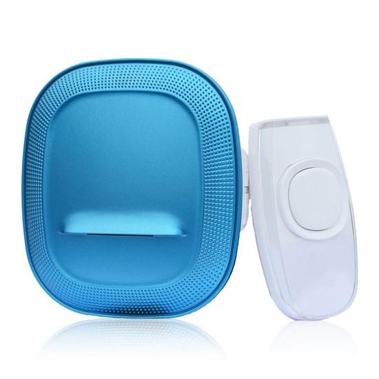 Zvonček domový bezdrôtový 1L62X do zásuvky, 200m, modrý, learning code