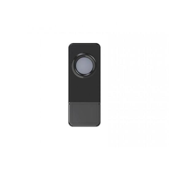 Tlačidlo bezdrôtové GETI pre GWD sériu zvončekov čierne