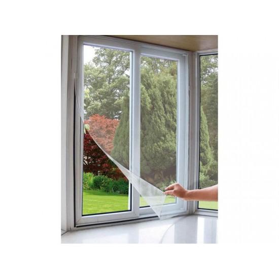 Sieť okenná proti hmyzu 90x150cm biela EXTOL CRAFT