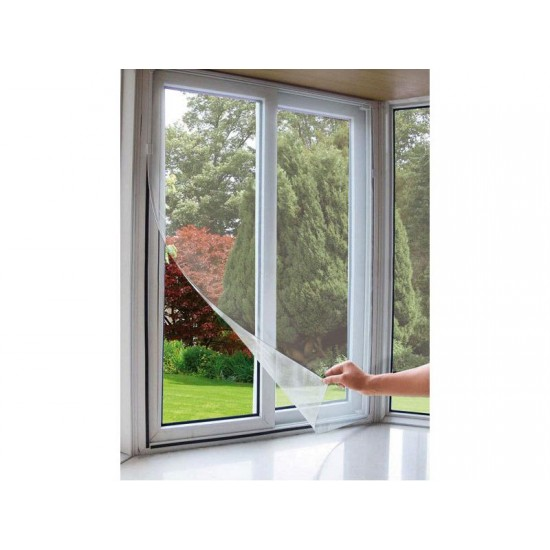 Sieť okenná proti hmyzu 130x150cm biela EXTOL CRAFT