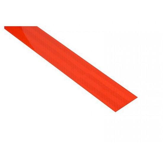 Samolepiaca páska reflexná 1m x 5cm červená