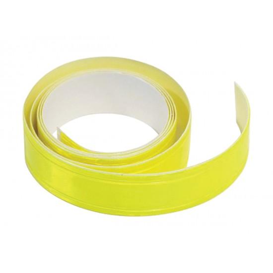 Samolepiaca páska reflexná 2cm x 90cm žltá