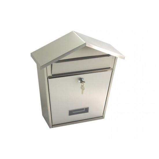 Schránka poštová G21 LORI 320 x 380 x 105 mm, nerez